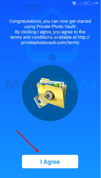 تطبيق Private Photo Vault