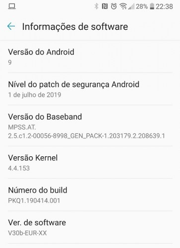 تحديث Android Pie